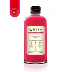 John Noa Worts NO 1 Σιρόπι Υγείας & Ομορφιάς Άρωμα Βανίλια-Φράουλα 150ml