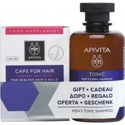 Apivita Caps For Hair Hippophae, Zinc & Biotin 30 κάψουλες