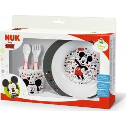 Nuk Σετ Φαγητού Disney Mickey 6m+