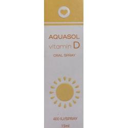 Olvos Science Aquasol Vitamin D Oral Spray 15ml
