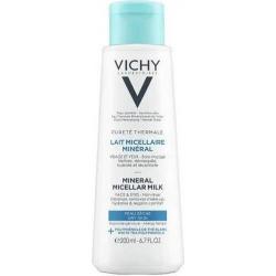 Vichy Purete Thermale Mineral Micellar Milk Dry Skin Pump 400ml
