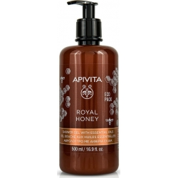 Apivita Royal Honey Shower Gel with Essential Oils 500ml Eco Pack
