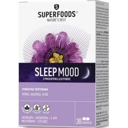 Superfoods Sleep Mood 30 κάψουλες