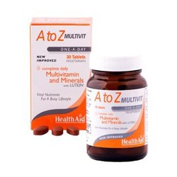 HealthAid A to Z Multivit Lutein 90 Ταμπλέτες