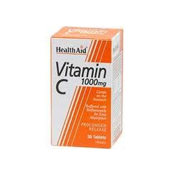 HealthAid Vitamin C 1000MG 30 ταμπλέτες