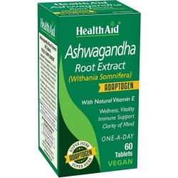 Health Aid Ashwagandha Root Extract 60 ταμπλέτες