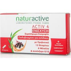 Naturactive Activ 4 Ενίσχυση 28 Caps