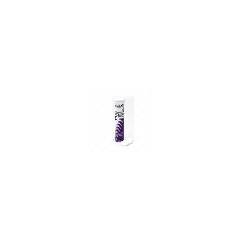 HealthAid Vitamin C 1000mg Blackcurrant 20 effervesent