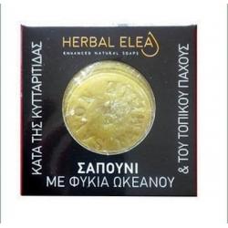 BioLeon Herbal Elea Σαπούνι με Φύκια Ωκεανού Κατά της Κυτταρίτιδας 150gr
