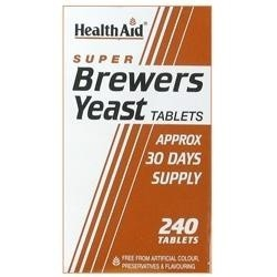HealthAid Super Brewers Yeast 240 ταμπλέτες