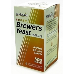 HealthAid Super Brewers Yeast 500 ταμπλέτες