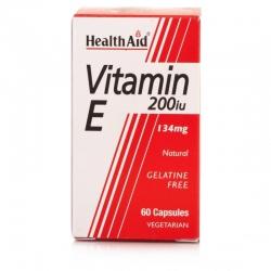 HealthAid Vitamin E 200iu 60 κάψουλες