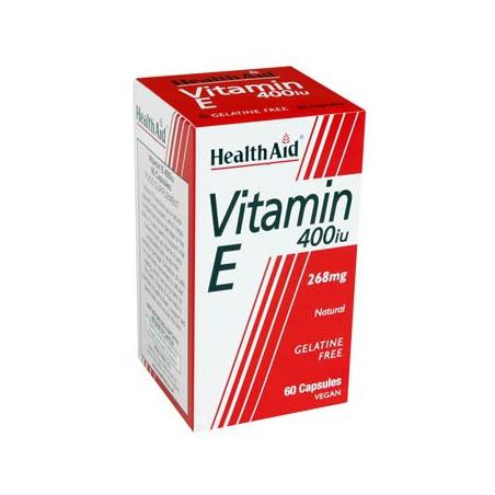 HealthAid Vitamin E 400iu 30 κάψουλες