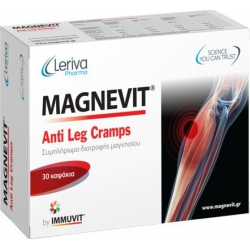 Leriva Magnevit Anti Leg Cramps 30 κάψουλες