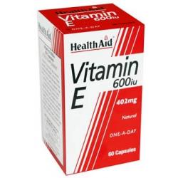 HealthAid Vitamin E 600iu 60 κάψουλες