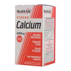 HealthAid Strong Calcium 600mg 60 ταμπλέτες