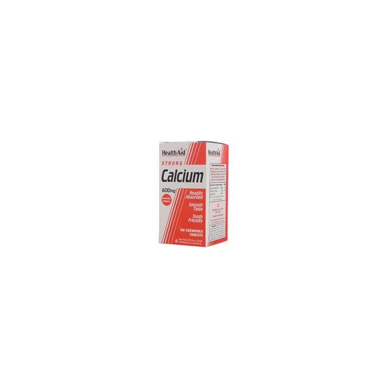 Healthaid Strong Calcium & Vit D 600mg