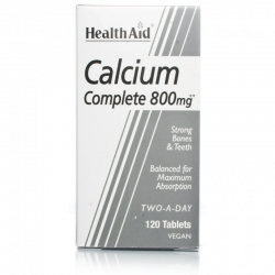 HealthAid Calcium 800 mg 120 tabs