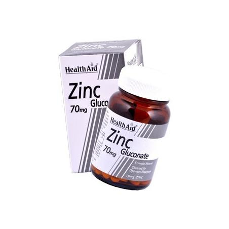 Healthaid Zinc Gluconate 70mg 90s
