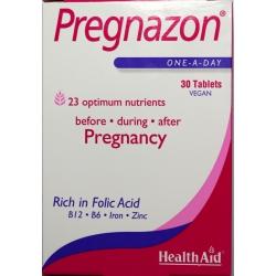Health Aid Pregnazon 30 ταμπλέτες