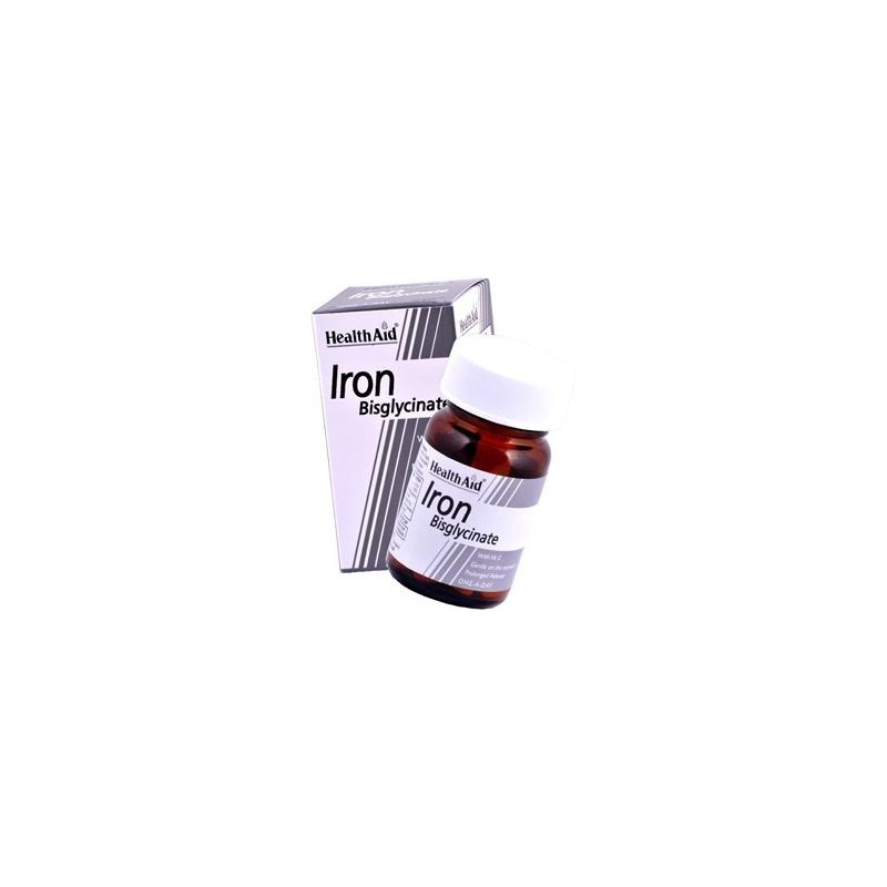 HealthAid Iron Bisglycinate 30s