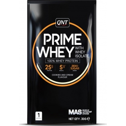 QNT Prime Whey with Whey Isolate 30gr Cookies & Cream