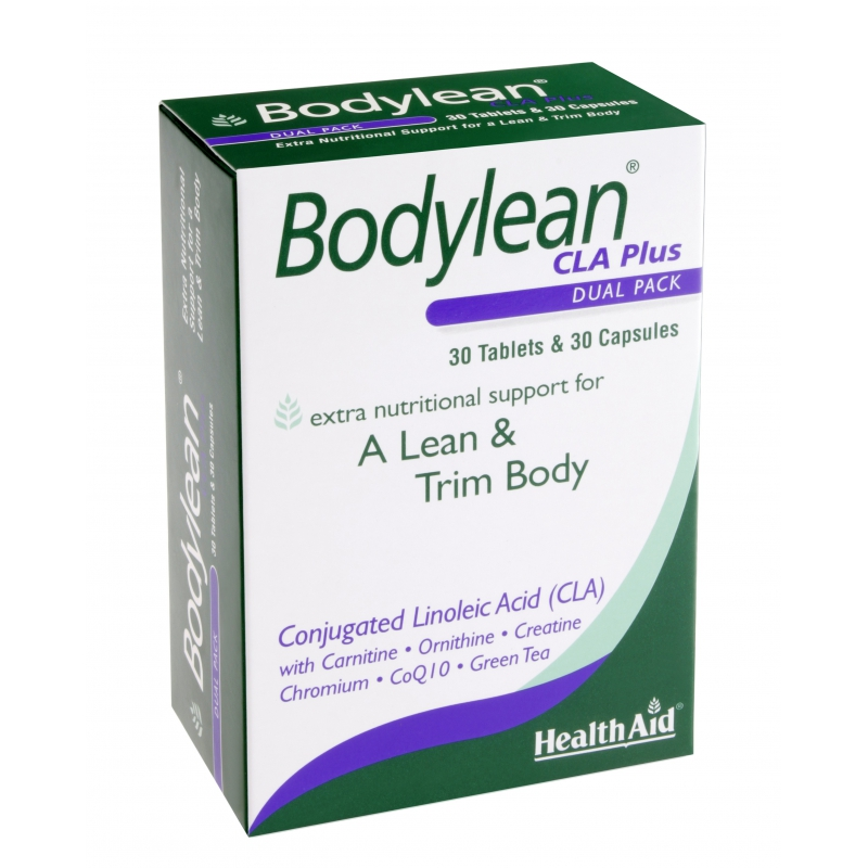 Health Aid Bodylean C.L.A Plus Dual Pack 30tabs+30caps
