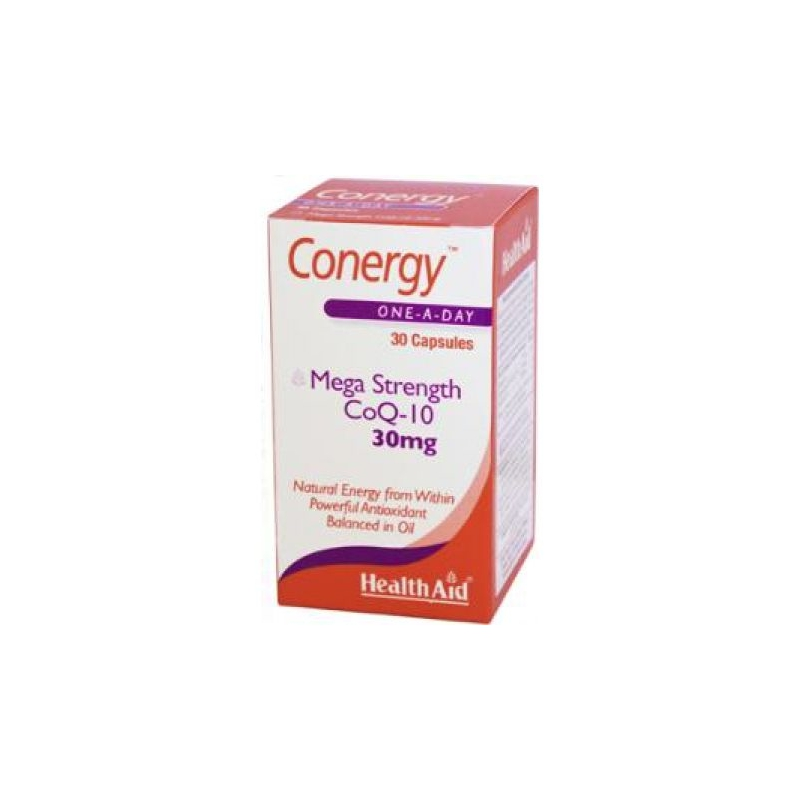 HealthAid Conergy Q10 30mg 30κάψουλες