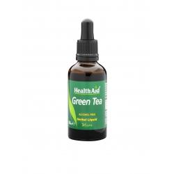 Health Aid Green Tea liquid Πράσινο Τσάι 50ML