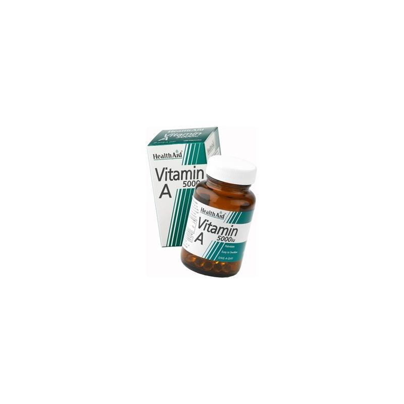 HealthAid Vitamin A 5000iu 100 κάψουλες