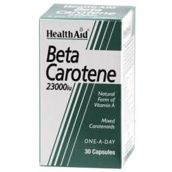 HealthAid Beta Carotene 30 κάψουλες