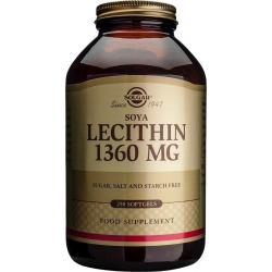 SOLGAR LECITHIN 1360mg