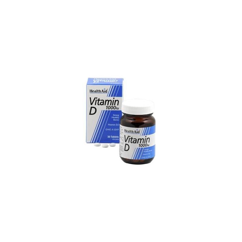 Healthaid Vitamin D3 1000i.u