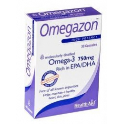 HealthAid Omegazon 750mg 30 κάψουλες