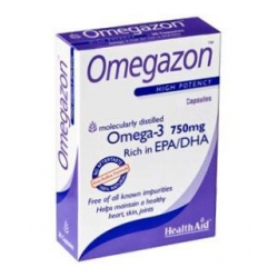 HealthAid Omegazon 750mg 60 κάψουλες