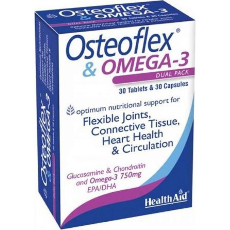 Healthaid Osteoflex & omega3 30 κάψουλες+30 κάψουλες