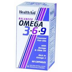 HealthAid Omega 3 - 6 - 9 60 κάψουλες