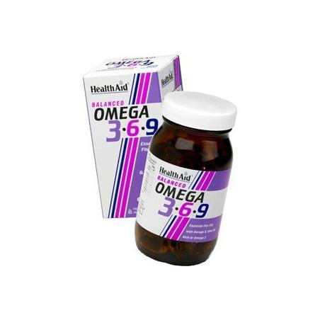 HealthAid Omega 3 - 6 - 9 90 κάψουλες