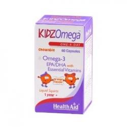 Healthaid Kidz Omega  Πορτοκάλι 60 μασώμενα δισκία
