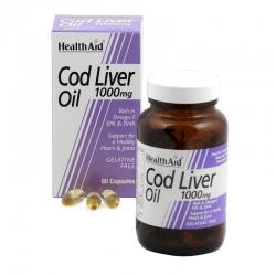 HealthAid Cod Liver Oil 1000 mg 30 κάψουλες