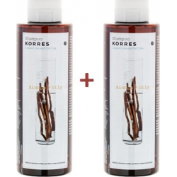Korres Σαμπουάν Γλυκύρριζα & Τσουκνίδα Λιπαρά Μαλλιά 250ml