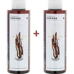 Korres Σαμπουάν Γλυκύρριζα & Τσουκνίδα Λιπαρά Μαλλιά 2x250ml