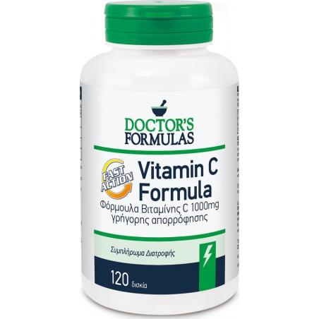 Doctor's Formulas Vitamin C Fast Action 1000mg 120 κάψουλες