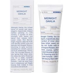 Korres Midnight Dahlia Body Milk 125ml
