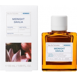 Korres Midnight Dahlia Eau de Toilette 50ml