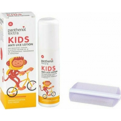Medisei Panthenol Extra Kids Anti Lice Lotion & Χτενάκι 125ml