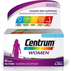 Centrum Women A to Zinc 60 tabs