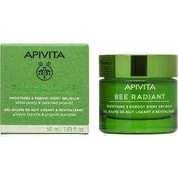 APIVITA Bee Radiant Gel-Balm Νύχτας για Λείανση & Αναζωογόνηση 50ml