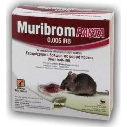 Δάφνη Agrotrade Ποντικοφάρμακο Muribrom Pasta 150gr
