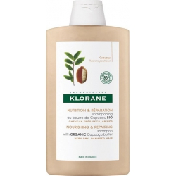 Klorane Nourishing & Repairing Shampoo with Organic Cupuacu Butter for Dry & Damaged Hair 400ml